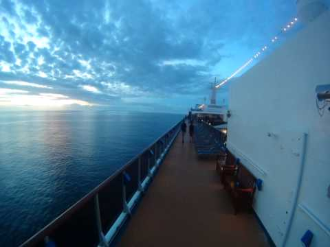 Good Morning from Carnival Spirit