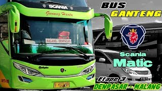 Video DENPASAR-MALANG NAIK BUS SCANIA MATIC GUNUNG HARTA | Muantap Tenan !!! MP3, 3GP, MP4, WEBM, AVI, FLV Juni 2018