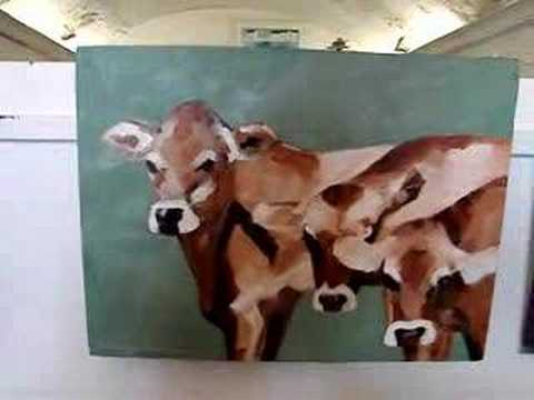 John Marshall The Cow Painter Studio Tour 001