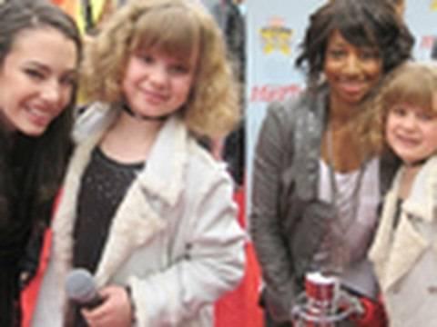 Monique Coleman Interview plus Chloe Bridges w Youngest Professional Kid Reporter Piper (PQP #019)