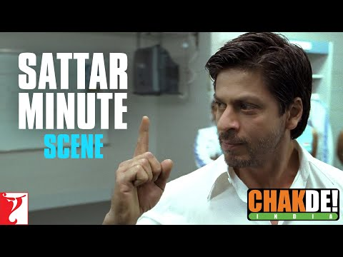 Video Dialogue: Sattar Minute | Chak De India | Shah Rukh Khan download in MP3, 3GP, MP4, WEBM, AVI, FLV January 2017