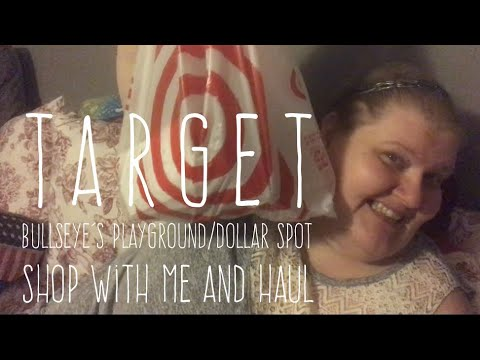 Target Bullseye's Playground/Dollar Spot Shop With Me and Haul May 13, 2018