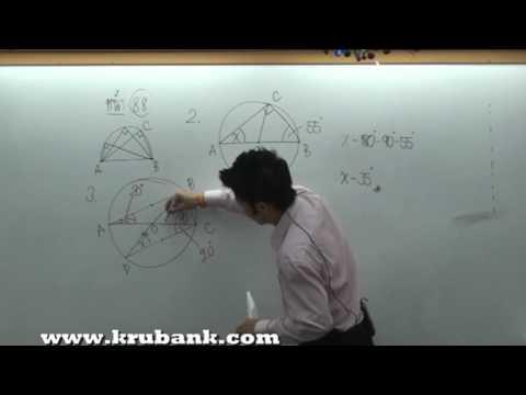 วงกลม ม.3  คณิตศาสตร์ครูพี่แบงค์  part.1.mpg
