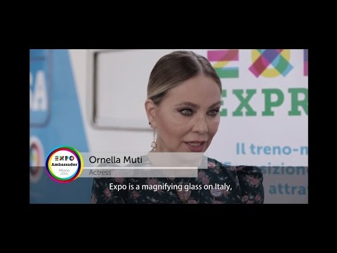 Ambassador Expo Milano 2015 Ornella Muti eng
