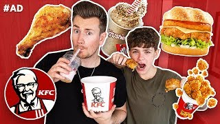 Video BROTHERS TRY EVERY FOOD ON THE KFC MENU MP3, 3GP, MP4, WEBM, AVI, FLV September 2018