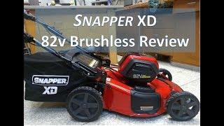1. Snapper XD 82v Self Propelled Lawn Mower