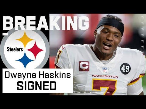 Pittsburgh Steelers Sign QB Dwayne Haskins