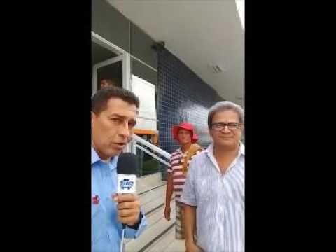 Tv Garrincha relata tremor em Teresina