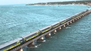 Video Train  on Pamban bridge 4 download in MP3, 3GP, MP4, WEBM, AVI, FLV January 2017