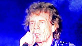The Rolling Stones She's A Rainbow, Dead Flowers Rose Bowl 2019