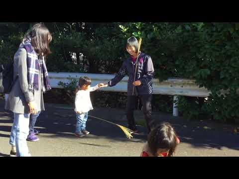 和光鶴川幼稚園2歳児親子教室「はらっぱ」幼稚園周辺のお散歩