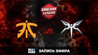 Fnatic vs Mineski, DreamLeague Season 8, game 1 [Mila]