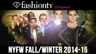 New York Fashion Week Fall/Winter 2014-15: Exclusive Access on FashionTV