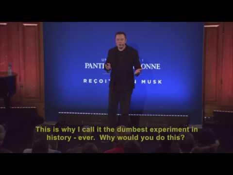 Elon Musk's Unbelievably Simple 12-minute Killer Break Down on Climate Change