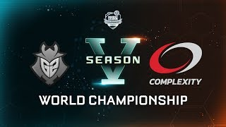 G2 ESPORTS vs. COMPLEXITY GAMING - World Championship