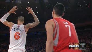 Rockets vs Knicks | Lin ( 22 PTS ) + Team Highlights (12-17-2012)