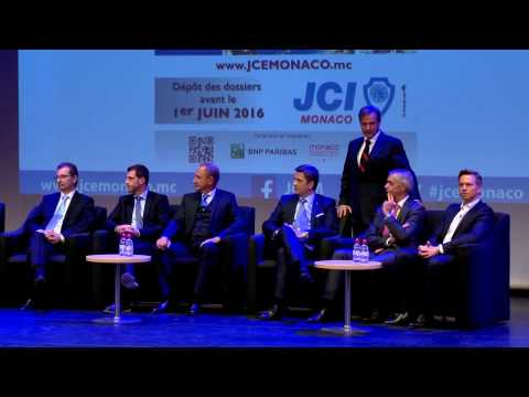 Junior Chamber International Monaco: presentation of Business Creation Competition awards