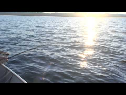 Chris Tarrant fishing on the Yukon