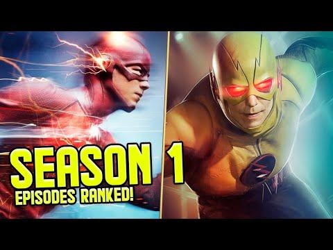 The Flash: Season 1 Episodes RANKED!