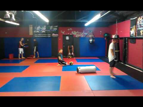 SSF Submission Academy - Fighter conditioning at SSF in Clarksville TN.