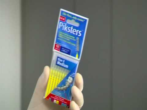 Piksters Interdental Brushes - How To Use Piksters Video