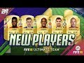 BRAND NEW PLAYERS IN FUT! w/ MAN UTD FRED AND INTER NAINGGOLAN! | FIFA 18 ULTIMATE TEAM