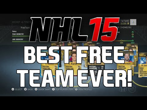 NHL 15 HUT: BEST EVER FREE TEAM!