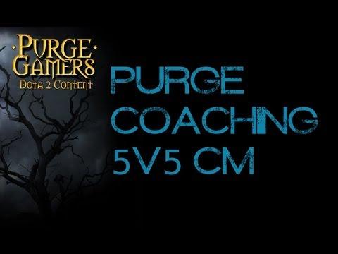 Dota 2 5v5 CM coaching session