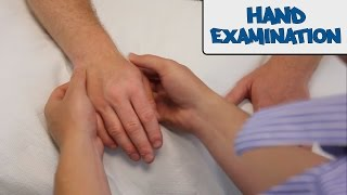Hand Examination - OSCE Guide
