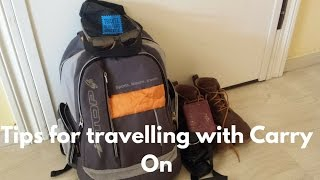I've just packed for a 10 day break in Portugal, and so I thought I would share a few tips for travelling with carry on. Actually, I don't know why I am calling it carry on - I, like most Brits, call it hand luggage. We could compromise and call it cabin baggage?? Anyhow - here it is, a few travel tips for you. Enjoy!You might also want to check this article out about what to take in a carry-on bag - http://www.davestravelpages.com/mens-carry-on-packing-list-for-a-weekend-break-in-europe/