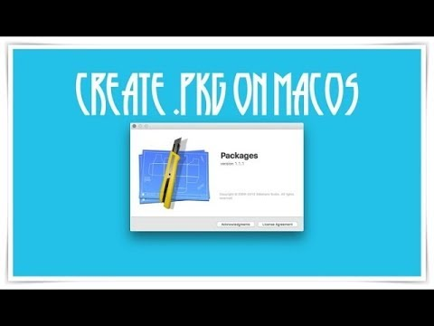 How to Make Build OSX Packages or  PKG Installer Easily on macOS