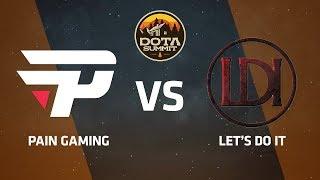 paiN Gaming против Let's Do It, Третья карта, DOTA Summit 9 LAN-Final