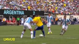 """Please Drop a Like, Comment and Subscribe! Thank You for the support!Lionel Messi, the record breaker was not going to let this record slide by either. At such a young age, he managed to bag himself a hat-trick vs Brazil. As if Marcelo hasn't had enough of Messi destruction in La Liga, he had to go through the trouble in International level too. Like Ray Hudson would say """"This man is absolutely mainline to pure footballing magic"""""""