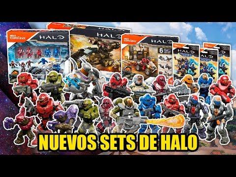 ¡Los Sets Mas Esperados! | Halo Mega Construx