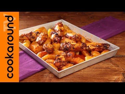 ali di pollo alla messicana - ricetta