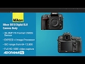 Nikon D 810 DSLR Camera HANDS ON and REVIEW | FUTUREMAKERS2020 😀