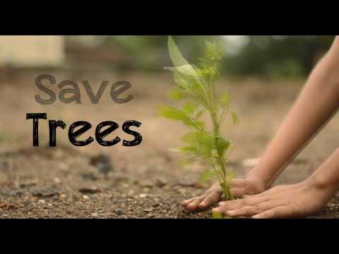 Save Trees Ad