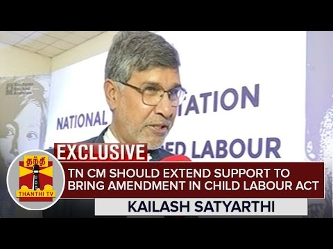 Jayalalithaa-should-extend-support-to-bring-Amendment-in-Child-Labour-Act--Kailash-Satyarthi