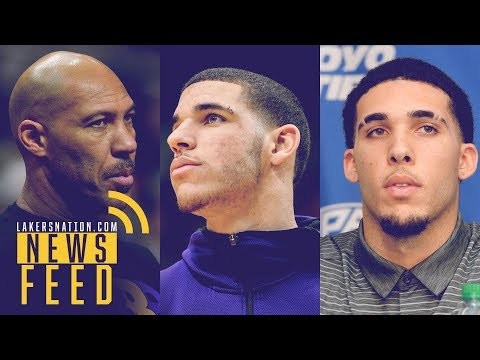 Video: Lakers Feed: LaVar Ball Wants All 3 Sons In L.A., Should They Allow It?