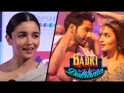 Alia Bhatt REACTS On Badrinath Ki Dulhania 100 Cr