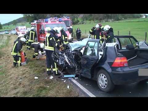 Goldhausen: Frau stirbt nach Zusammenstoß