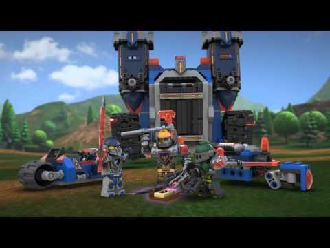 Конструктор Фортрекс - мобильная крепость - LEGO NEXO KNIGHTS - фото № 14
