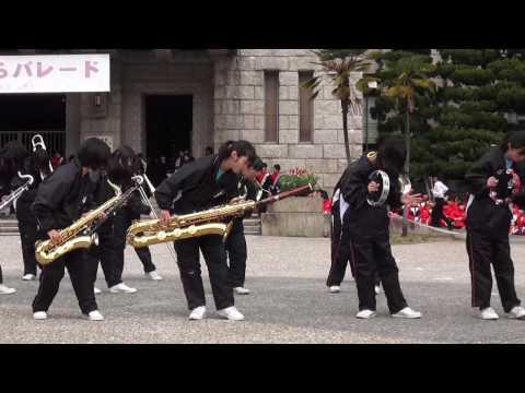 桂中学校 2017京都さくらパレード