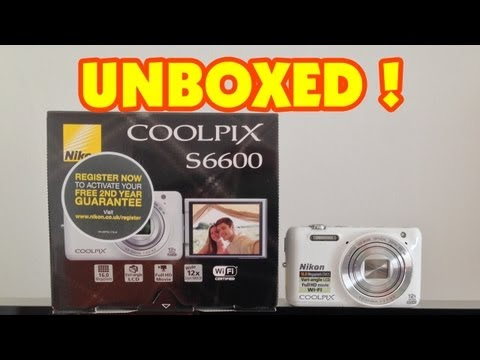 Nikon Coolpix S6600 Unboxing & First Look