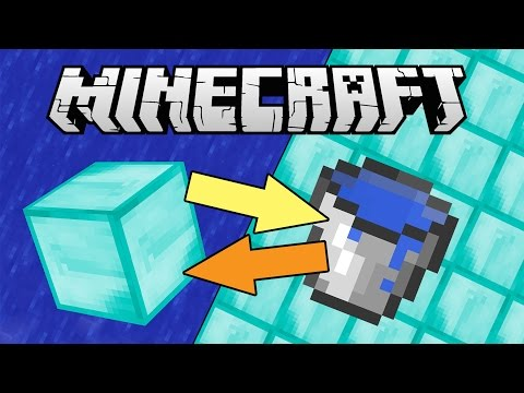 If Diamonds And Water Switched Places - Minecraft