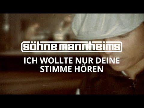 Tekst piosenki Sohne Mannheims - Ich Wollt Nur Deine Stimme Hörn po polsku