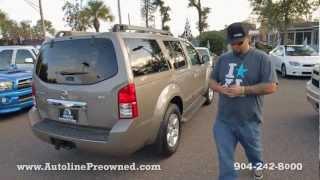 Autoline's 2008 Nissan Pathfinder SE Walk Around Review Test Drive