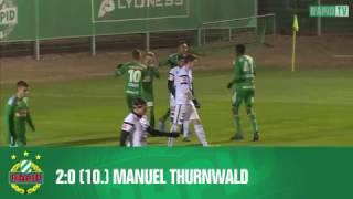 SK Rapid – FCM Traiskirchen 7:1 (Highlights)