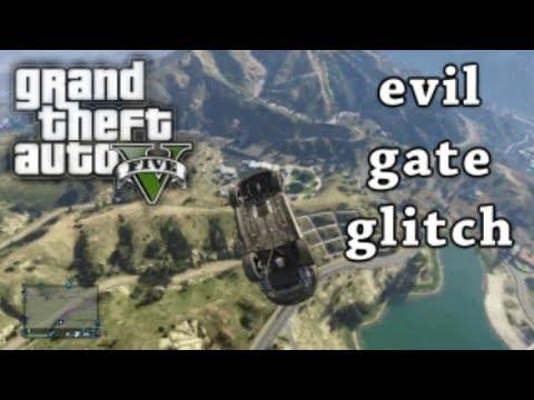 GTA 5 - The Evil Gate Glitch (GTA IV Evil Swing Set)