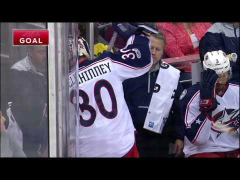 Video: Bobrovsky allows five goals for first time since opening night
